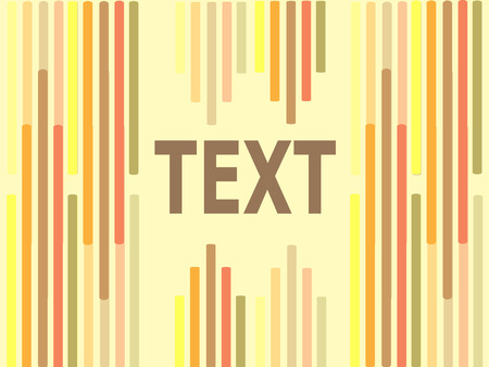 coastal: Stylistic Background Text Logo