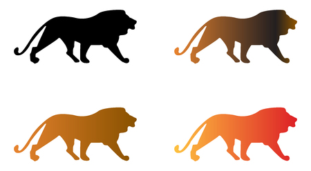 Lion vector illustration  イラスト・ベクター素材