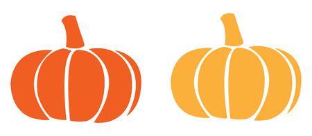 Pumpkin icon. Harvest Thanksgiving vector illustration Illustration