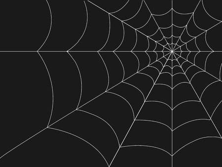 Halloween web illustration.