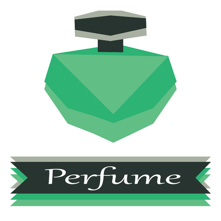 perfume logo vector illustration  イラスト・ベクター素材