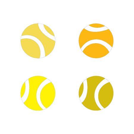 Orange and yellow balls on white