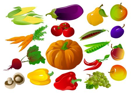 Fruits and vegetables Stock Photo - 2118568
