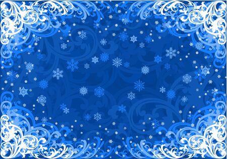 Winter background Stock Vector - 2118583
