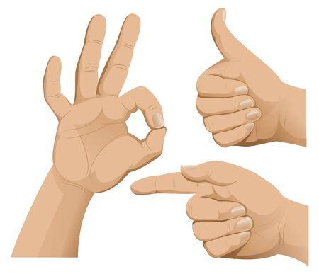 Hands of success