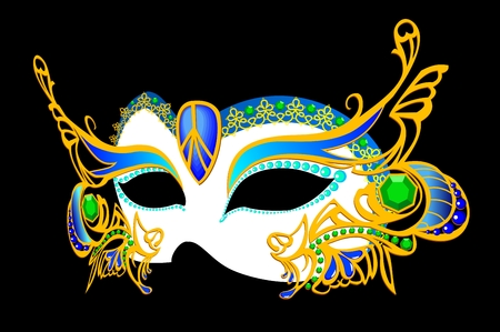 venetian carnival mask Stock Vector - 2118573