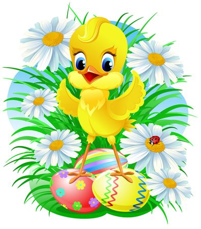 Easter chick Stock Photo - 2570439