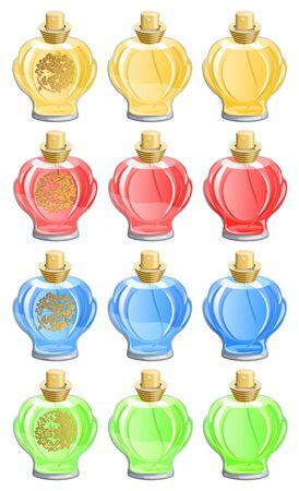 Perfume bottles Stock Vector - 3201120