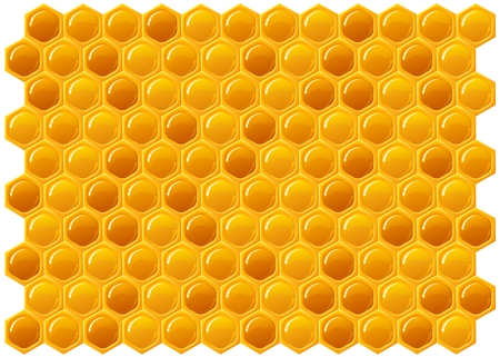 Honeycomb texture background