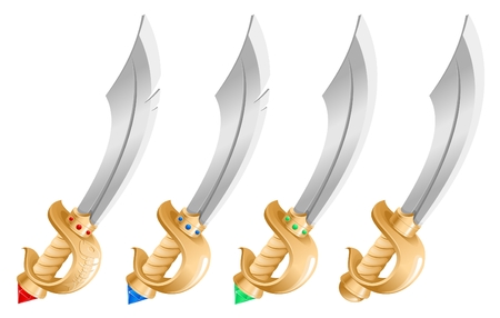 broadsword: sword Illustration