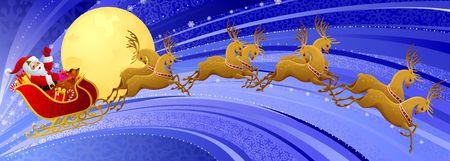 Santa Claus sleigh photo