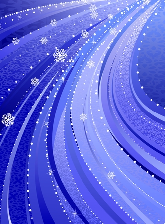 Winter / christmas / new year background Stock Vector - 3709126
