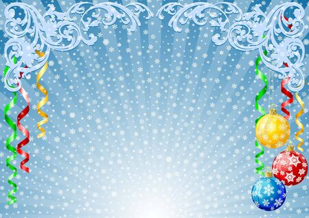 Christmas background Stock Photo - 3730303