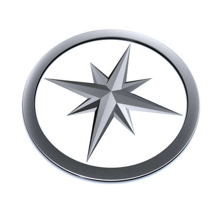 metall: metall compass model isolated