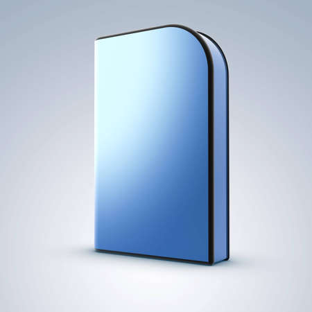blank dvd box on backgroundr