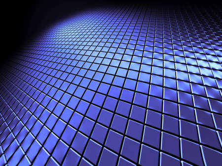 blue steel background close-up view Stock Photo - 7624856