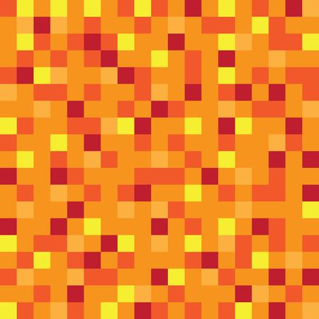 yellow block: Abstract block texture orange. Pixel yellow background. Illustration