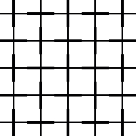 Checkered pattern. Geometric background from white square. Checkered background in abstract style. Black and white coloring.