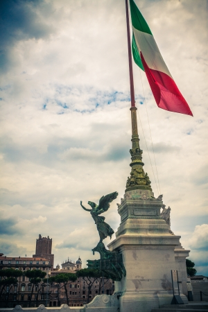 altar of fatherland: Piazza Venezia  Capitol Hill  Altar of the Fatherland  Roma  Italy