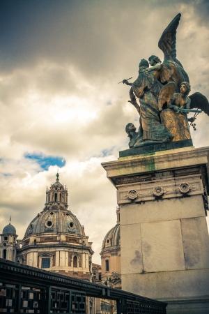 Piazza Venezia  Capitol Hill  Altar of the Fatherland  Roma  Italy