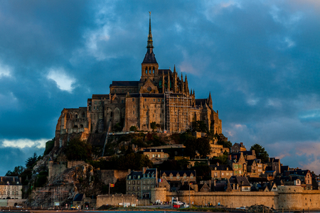 France  Normandy  Mont Saint-Michel  photo