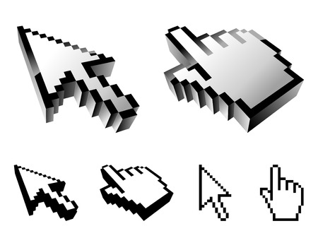 surfing the net: Cursors.