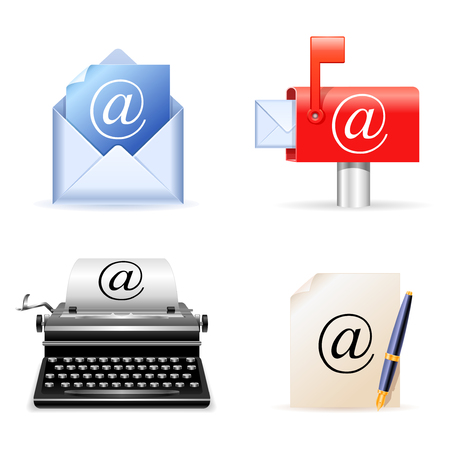E-mail icons. Stock Vector - 6423583