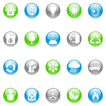 Environmental icons. Stock Vector - 6423581