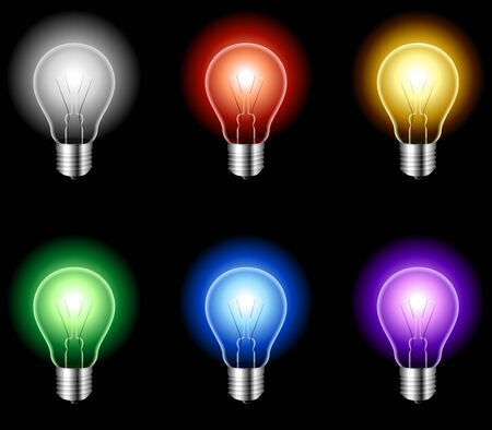 Light bulbs. Stock Vector - 6564264