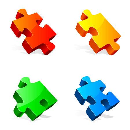 piezas de rompecabezas: Piezas del rompecabezas.
