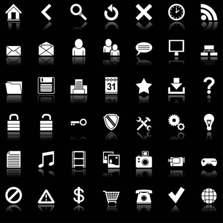 Web icons. Vector