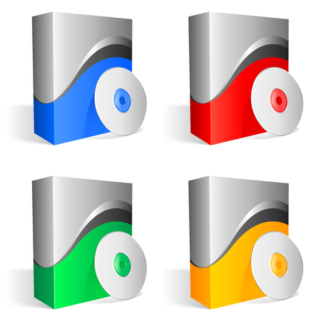 packaging icon: Software di caselle.