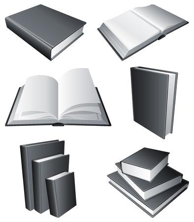 Books. Vector