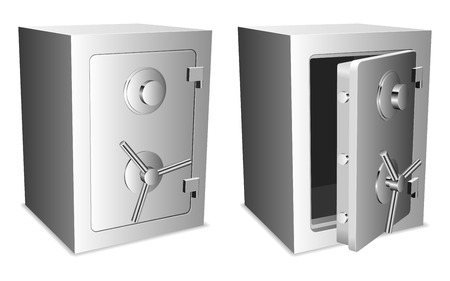 combination lock: Safes.