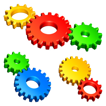 Color gears.