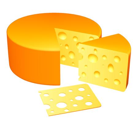 parmigiano: Formaggio. Vettoriali