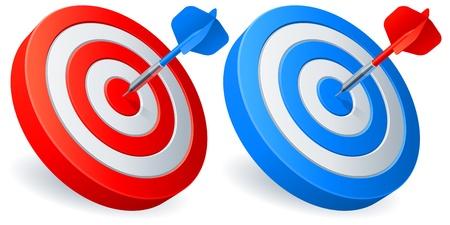 bullseye: Darts targets.