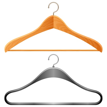 Hangers. Stock Vector - 9396863
