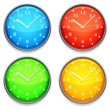Color clock. Illustration