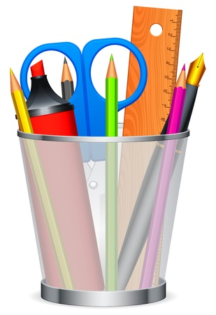 Writing tools. Vector