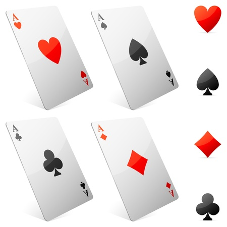 Game cards.