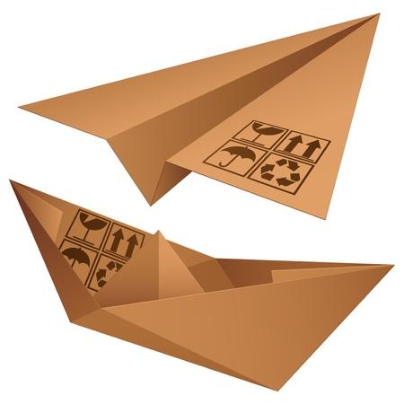 flying boat: Shipping symbols.