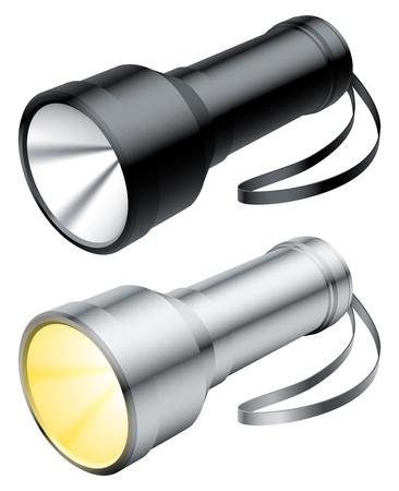 taschenlampe: Taschenlampe. Illustration