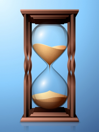 seeps: Hourglasses  Illustration
