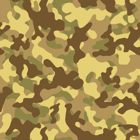desert sand: Vector illustration of desert sand camouflage seamless pattern Illustration