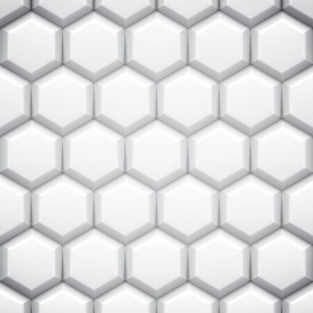 artistic texture: Black and white abstract geometric background with cells
