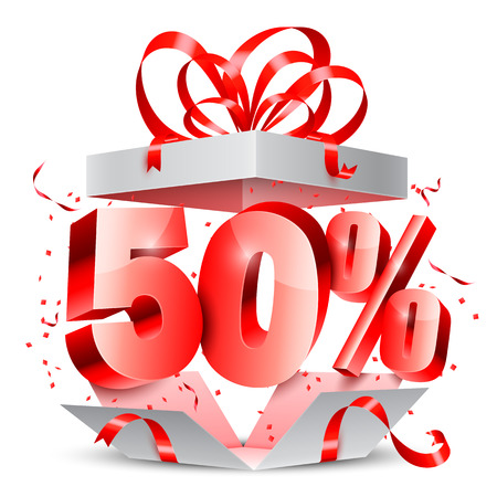 Fifty Percent Discount Gift