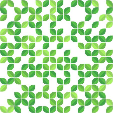 pattern: Green Leaves Seamless Pattern