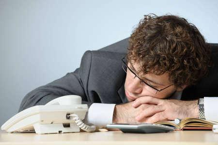 Sleeping businessman Stock Photo - 3994004