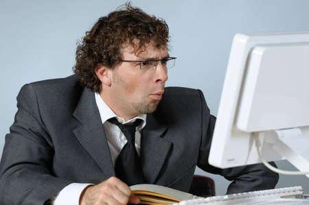 Stressed businessman Stock Photo - 4109600